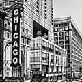 Chicago In Black And White by Emily Kay