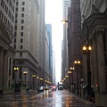 Chicago In The Rain 2 by Anita Burgermeister