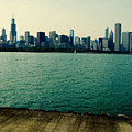 Chicago Lake Michigan Skyline by Kyle Hanson