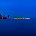 Chicago Lakefront Ultra Wide Hd by Steve Gadomski