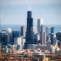 Chicago Looking East 02 by Thomas Woolworth