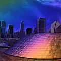 Chicago Millennium Park Bp Bridge Pa 01 Prismatic by Thomas Woolworth