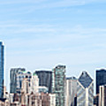 Chicago Panoramic Skyline High Resolution Picture by Paul Velgos