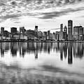 Chicago Reflection by Donald Schwartz