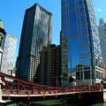 Chicago River - Chicago Boat Tour by Dmitriy Margolin