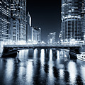 Chicago River At State Street Bridge by Paul Velgos