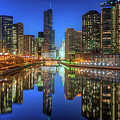 Chicago River East by Steve Gadomski