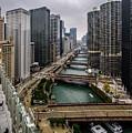 Chicago River by Randy Scherkenbach
