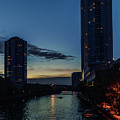 Chicago River Scene by Nisah Cheatham