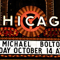 Chicago Sign - Chicago Theater by Dmitriy Margolin