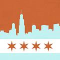 Chicago Skyline 540 3 by Mawra Tahreem
