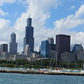 Chicago Skyline 7 by Cindy Kellogg
