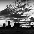 Chicago Skyline At Dusk by Mary Pille