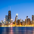 Chicago Skyline At Twilight by Paul Velgos