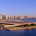 Chicago Skyline, Filtration Plant by Panoramic Images