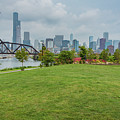 Chicago Skyline From The Southside by Anthony Doudt