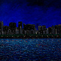 Chicago Skyline by Joe Michelli