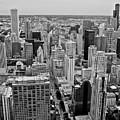 Chicago Skyline Landscape by Dale Chapel