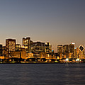 Chicago Skyline Panorama by Steve Gadomski