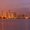 Chicago Skyline Panoramic 2 by Sven Brogren