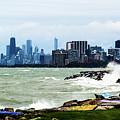 Chicago Skyline by Randy J Heath