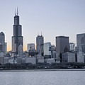 Chicago Skyline by Tony HUTSON
