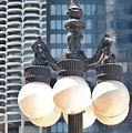 Chicago Street Lamps by Ginger Wakem