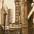 Chicago Theater - 3 by Ely Arsha