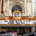 Chicago Theater Marquee Jethro Tull Signage by Thomas Woolworth