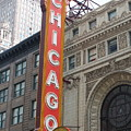 Chicago Theater Sign by Lauri Novak
