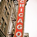 Chicago Theater Sign Marquee by Paul Velgos