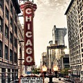Chicago Theater by Tammy Wetzel