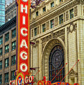 Chicago Theatre by Jerry Fornarotto