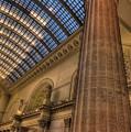 Chicago Union Station Column by Steve Gadomski