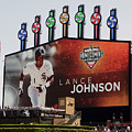 Chicago White Sox Lance Johnson Scoreboard by Thomas Woolworth