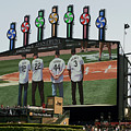 Chicago White Sox Scoreboard Thank You 12 22 44 3 by Thomas Woolworth