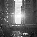 Chicagohenge Bw by Tony HUTSON