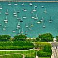 Chicago's Dusable Harbor  by Ginger Wakem