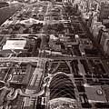 Chicagos Front Yard B W by Steve Gadomski