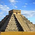 Chichen Itza Pyramid by Charline Xia