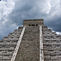 Chichen-itza Pyrmid In Mexico by Douglas Barnett