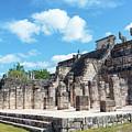 Chichen Itza Temple Of The Warriors by Jess Kraft