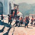 Chichicastenango Procession by Emiliano Campobello