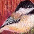 Chickadee by Sandy Hemmer