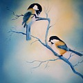 Chickadees by Leo Gordon