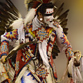 Pow Wow Chicken Dancer 12 by Bob Christopher