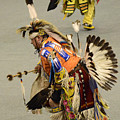 Pow Wow Chicken Dancers 3 by Bob Christopher
