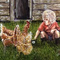 Chicken Feed by Arlene  Wright-Correll