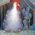 Chicken In My Garden by Shane Guinn