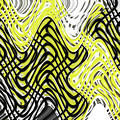 Chicken Scratch Abstract by Tom Janca